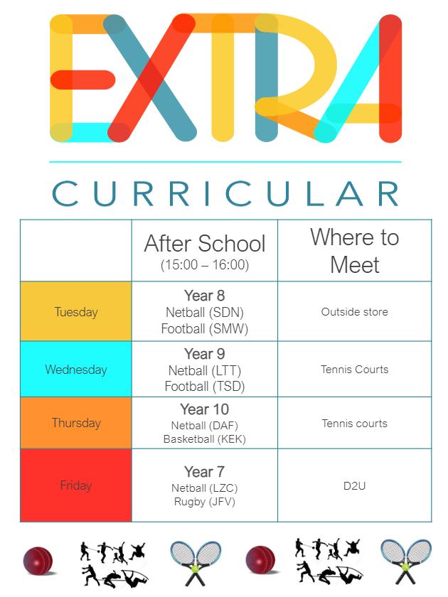 Extra Curricular Activities 2021